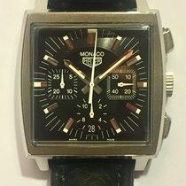 TAG Heuer Monaco Chronograph box and paper