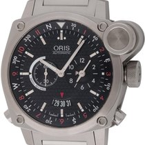 Oris : BC4 Flight Timer :  690-7615-4154 :  Stainless Steel