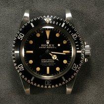 Rolex Submariner Steel 40mm Black No numerals