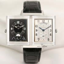 Jaeger-LeCoultre 30mm Manual winding pre-owned Grande Reverso Night & Day