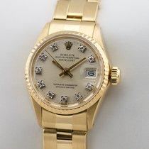 Rolex Lady Datejust 18K Gold Gelbgold Automatic Damenuhr