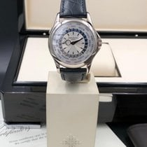Patek Philippe World Time 5130 white gold like new