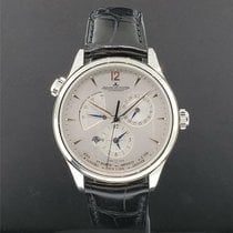 Jaeger-LeCoultre Master Geographic Staal 39mm Zwart