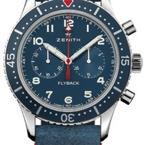 Zenith Steel 43mm Automatic Pilot Type 20 new United States of America, New York, Airmont