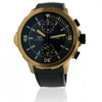 IWC Aquatimer Chronograph Bronze 44mm Noir Sans chiffres