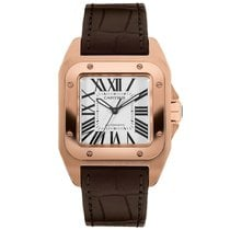 Cartier W20108Y1 Rose gold 2019 Santos 100 34mm new United States of America, New York, New York