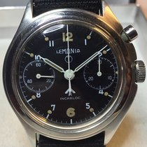 Lemania Steel 38,50mm Manual winding pre-owned