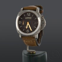 Panerai Luminor Marina 1950 3 Days Automatic Acero 44mm Marrón Arábigos España, Madrid