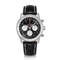 Breitling Navitimer 1 B01 Chronograph 43 Steel 43mm Black No numerals United States of America, New Jersey, Edgewater