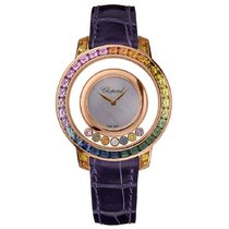 Chopard Happy Diamonds Rose gold 35.5mm Mother of pearl Australia, Melbourne