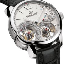 Greubel Forsey Platinum 44mm Manual winding GF03 PT CA new