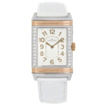 Jaeger-LeCoultre Grande Reverso Lady Ultra Thin Gold/Steel 40mm Silver Arabic numerals United States of America, New York, NYC