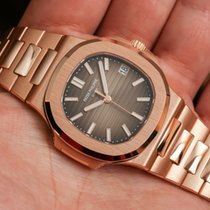 Patek Philippe new Automatic Screw-Down Crown 40mm Rose gold Sapphire Glass
