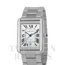 Cartier W5200028 Steel Tank Solo 31mm pre-owned United States of America, New York, Hartsdale