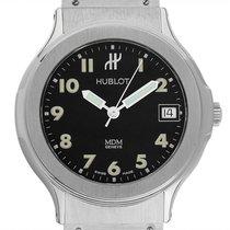 Hublot Elegant Steel 36mm Black Arabic numerals