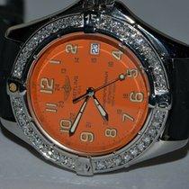 Breitling Superocean Steel 42mm Orange Arabic numerals United States of America, New York, NEW YORK CITY