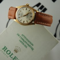 Rolex Oyster Perpetual 31 Yellow gold 31mm White No numerals