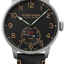 Ulysse Nardin Marine Torpilleur Steel 44mm Black Arabic numerals