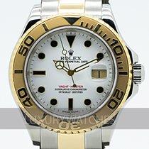 Rolex Yacht-Master 40 Золото/Cталь 40mm Белый
