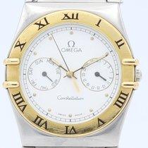Omega Constellation Quartz usados 34mm Blanco Acero y oro