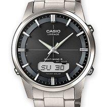 Casio Titanium Quartz Grey 39mm new