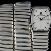 Jaeger-LeCoultre & Bvlgari 18k White Gold Cream Dial Rare...