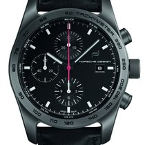 Porsche Design Chronotimer Titanium 42mm Black No numerals