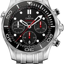 Omega Seamaster Diver 300 M Steel 41.5mm Black United States of America, New York, Airmont