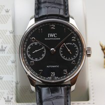 萬國 IW500703   Portugieser Automatic Black 7Days