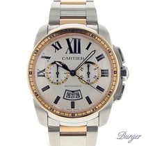 Cartier Calibre Chronograph Rose Gold/Steel