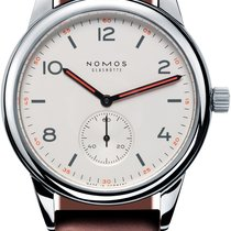 NOMOS Club Automat Steel 40mm White United States of America, New York, Airmont