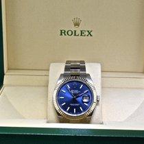 Rolex 41mm Automatic 2018 new Datejust (Submodel) Blue
