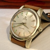 Omega Seamaster Ref 14761 Automatic Mens vintage Gold watch + Box