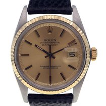 Rolex Datejust Ref. 1601 - Fully Serviced - Rolex Strap