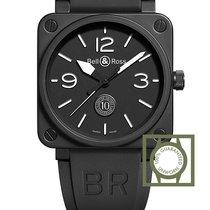 Bell & Ross BR 01-92 Keramiek 46mm Zwart Arabisch