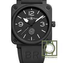 Bell & Ross BR 01-92 nuevo 2019 Automático Reloj con estuche y documentos originales BR0192-10TH-CE