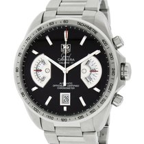 TAG Heuer Grand Carrera Steel 43mm Black No numerals United States of America, California, Los Angeles