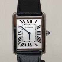 Cartier 2715 Stahl Tank Solo 27mm