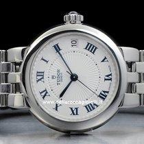 Tudor Clair de Rose Steel 34mm White Roman numerals