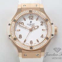Hublot Big Bang 38 mm Oro rosado 38mm Blanco Árabes