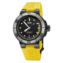 Oris Aquis Depth Gauge Steel 46mm Black United Kingdom, London