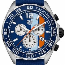 TAG Heuer Formula 1 Quartz Steel 43mm Blue No numerals