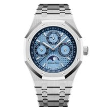 Audemars Piguet Royal Oak Perpetual Calendar Platinum 41mm Blue United States of America, New York, NEW YORK