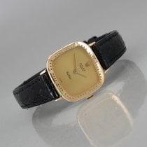Rolex Cellini pre-owned 24mm Gold Crocodile skin
