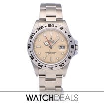 Rolex Explorer II Steel 40mm White No numerals