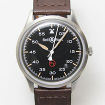 Bell & Ross BR V1 BRV192-MIL-ST/SCA Very good Steel 38.5mm Automatic