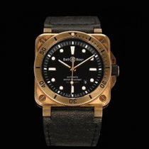Bell & Ross Bronze Automatic Black 42mm new BR 03
