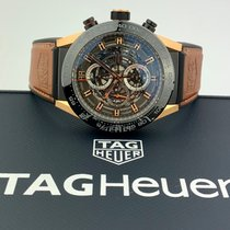 TAG Heuer Titanium Automatic Transparent 45mm new Carrera Calibre HEUER 01