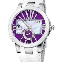 Ulysse Nardin Executive Dual Time Lady 243-10/30-07 new