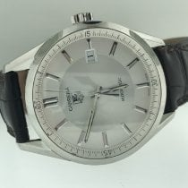 TAG Heuer Carrera Calibre 5 Steel Silver